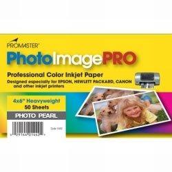 Promaster Pearl Inkjet Photo Paper 4 x 6'' - 50 Sheets (Pearl Inkjet)