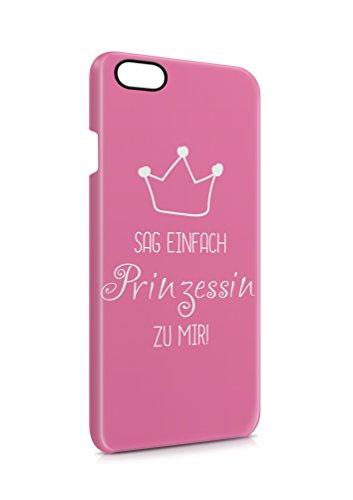 3D iPhone 7 PRINZESSIN Spruch Flipcase Tasche Flip Hülle Case Cover Spruch