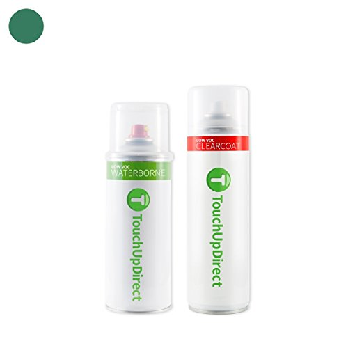 TouchUpDirect Exact Match Automotive Touch Up Paint matches Ford Forest Green Effect (GG) Aerosol - Essential Package ()