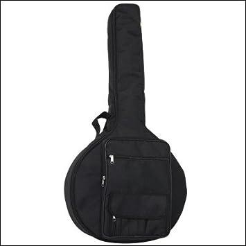 Ortola 0258-001 - Funda guitarra portuguesa, color negro
