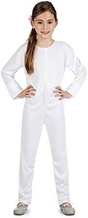 disfraz mono color blanco talla 10-12 años tamaño infantil