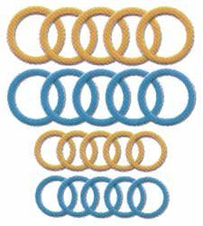 Bulk Buy: Clover Soft Jumbo Stitch Ring Markers 20/Pkg 3108 (3-Pack) by  (Image #1)