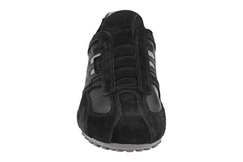 Geox Men's Uomo Snake L Slip On Trainers Black (Black C9999) Manchester online Ft1KOnhBRA