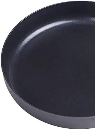 CJTMY Pan Noir - antiadhésive Poêle Vintage résistant à la Chaleur poignée Convient for Tous Les poêles