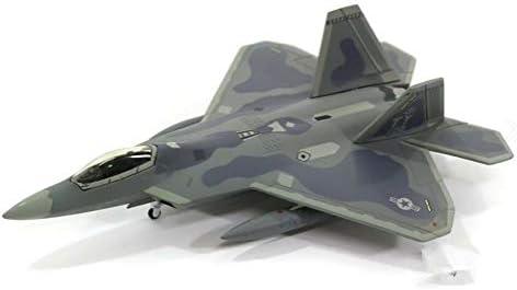 Hogan 1/200 完成品 アメリカ US Air Force F22A Raptor FY 01-018 ダイキャスト 戦