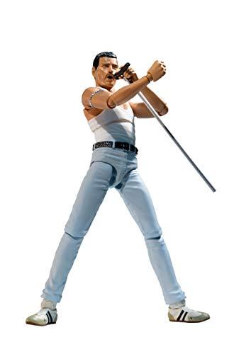 Figura S H Figuarts Freddie Mercury 1985 Live Aid Version 15cm