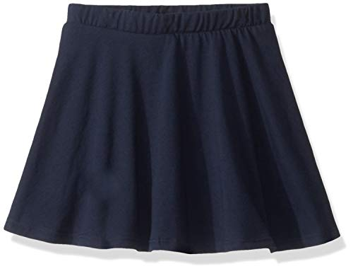 The Children's Place Baby Girls Solid Knit Skort, Tidal, 12-18MOS - Girls Skort Skirt Shorts