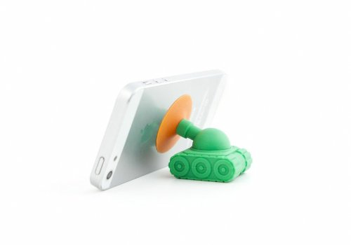 Kikkerland Phone Stand, Tank - Mount - Retail Packaging - Multicolor (Codec Stand)