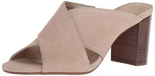 - Aerosoles Women's HIGH Alert Heeled Sandal, Bone Suede, 7 M US