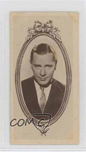 (Herbert Marshall Ungraded COMC Good to VG-EX (Trading Card) 1934 Godfrey Phillips Stars of the Screen - Tobacco [Base] #25)