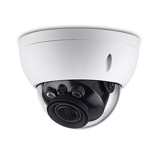 6MP Varifocal Poe IP Security Camera IPC-HDBW4631R-ZS 2.7mm~13.5mm Lens Motorized 5X Optical Zoom Outdoor Indoor Video Surveillance Camera Dome with 50m IR Night Vision,H.265,IK10,ONVIF,IP67