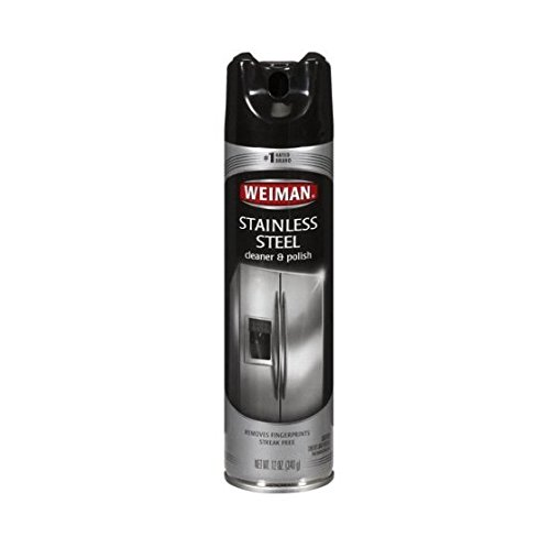 Weiman Stainless Steel Cleaner & Polish, 12 oz - 2pc