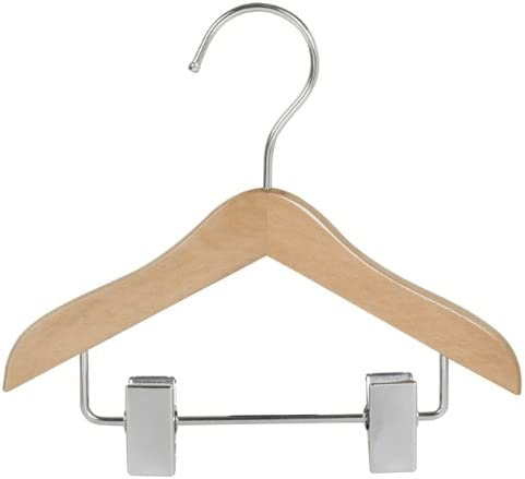 "NEW  WHITE 100-5/"" PLASTIC  DOLL CLOTHES HANGERS"