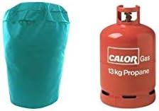 Funda para botella de gas de 13 kg, verde