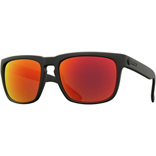 Electric - Knoxville Sunglasses OHM Grey Fire Chrome Lens Matte - Knoxville Glasses