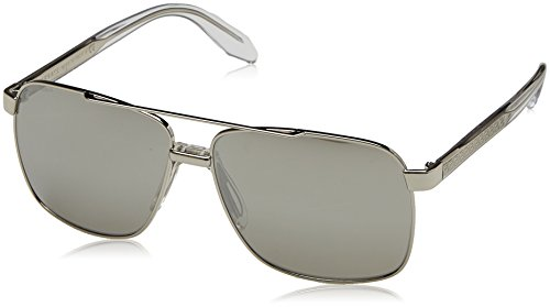 Versace Mens Sunglasses (VE2174) Silver/Silver Metal,Acetate,Steel - Non-Polarized - - Versace Shades 2017