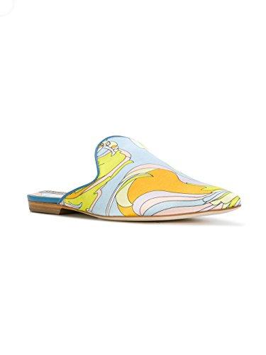 Emilio Pucci Mujer 81CE1281X52044 Multicolor Satén Sandalias