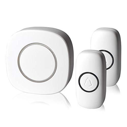 Workmanship Led Door Bell Wireless Doorbell Battery Powered 32 Tune Songs 1 Remote Control 1 Wireless Home Security Smart Doorbell Exquisite In