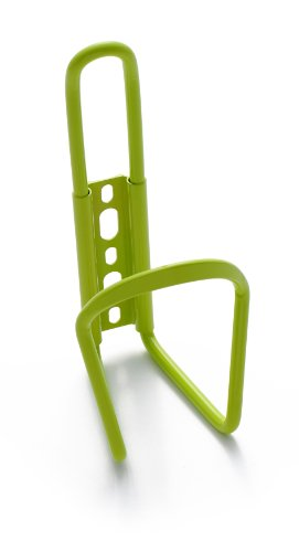 Retrospec Bicycles Aluminum Lightweight Bicycle Water Bottle Cage, Lime Green