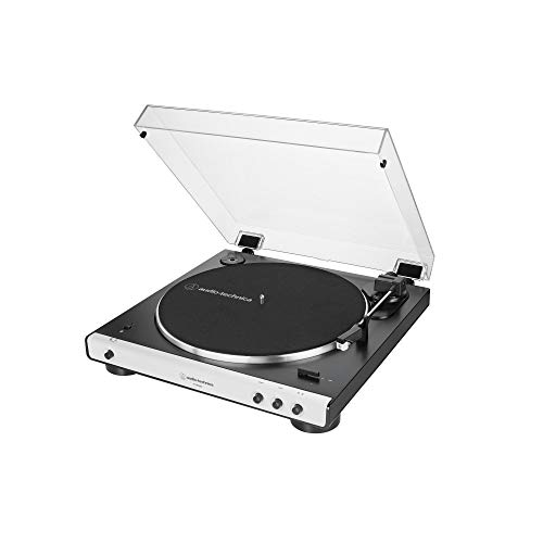 Audio-Technica LP60XBT Platenspeler, Volautomatisch, Bluetooth, Stereo, Wit