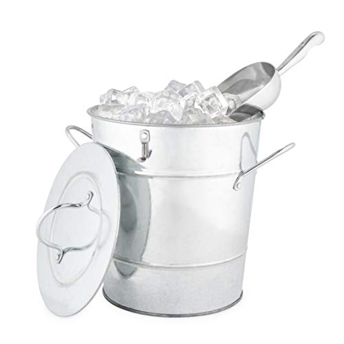 Twine 2584 Country Home Galvanized Ice Bucket, One Size