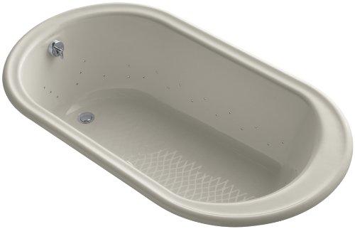 Kohler K-712-GCP-G9 Iron Works Bubblemassage 5.5Ft Bath with Polished Chrome Airjet Color, ()