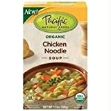 Pacific Natural Foods Organic Chicken Noodle Soup, 17.6-Ounce Boxes (Pack of 12) ( Value Bulk Multi-pack)