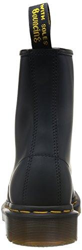 Original Navy Leather Martens Stivaletti Smooth Dr Unisex 1460 F7Sqnxf8