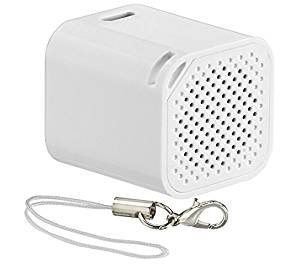 Insignia™ - Portable Bluetooth Selfie Speaker - White