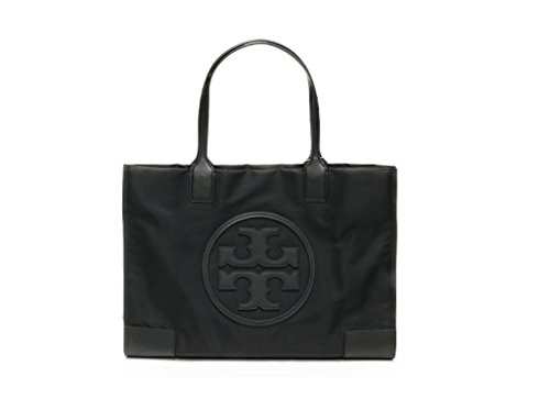 Tory Burch Womens Black Nylon Ella Mini Tote Bag ()