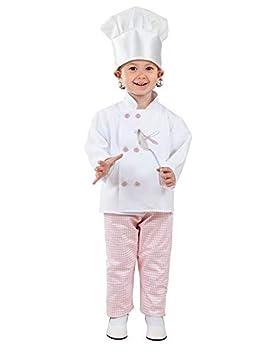 DISBACANAL Disfraz cocinera niña - Único, 4 años: Amazon.es ...
