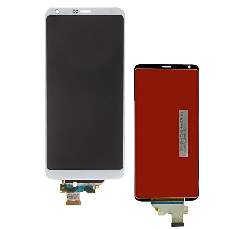 KNONEW Glass LCD Display Touch Screen Digitizer Assembly Replacement part For LG G6 H870 H871 H872 LS993 VS998 US997 LCD + Tools (White) by SCREENHOME (Image #1)
