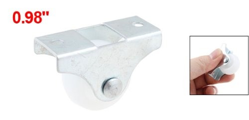 Uxcell a13030600ux0848 0.98 Dia Wheel Light Duty Caster for Laundry Cart Bakery Rack