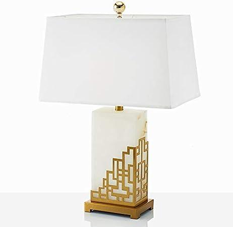 Azhom Etude Post Lampe Chinoise Bureau En Marbre Classique Modele De Chambre Design Creatif Moderne Chambre Chevet Lampe De Table Decorative Size 46 66cm Amazon Fr Cuisine Maison
