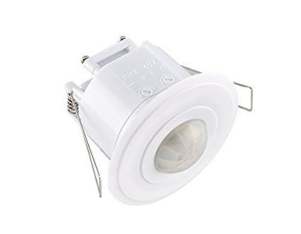 Sensor de seguridad LE Electronics, PM220, para techo, con ángulo de 360º y