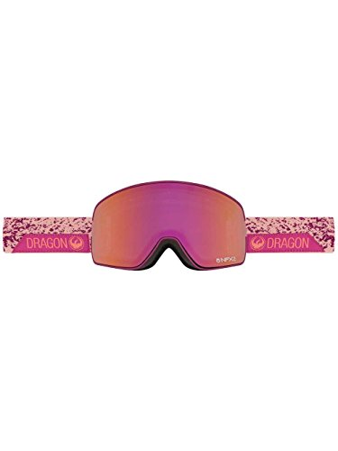 DRAGON NFX2 SNOW GOGGLE 2016-2017 STONE PINK PURPLE ION, PINK ION