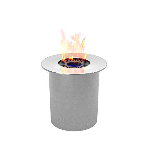- Regal Flame PRO Ethanol Circular Cup Burner Insert For Easy Conversion from Gel Fuel Cans, Gel Fireplace Fuel, Gel Fire Cans