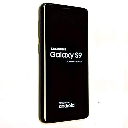Samsung Galaxy S9, 64GB, Midnight Black - For GSM (Renewed)