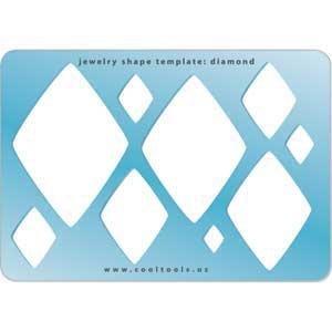 amazon com cool tools jewelry shape template diamond