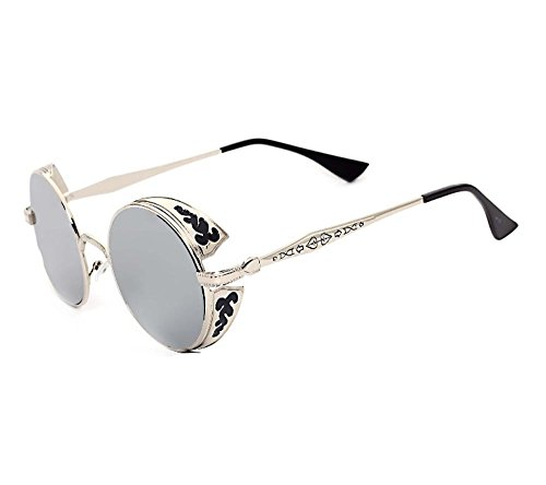 QMOT Mercury reflective gothic steampunk retro - Sunglasses S.t.dupont