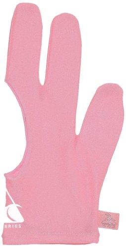 (Pro Series Billiard Gloves, Pink, Small)