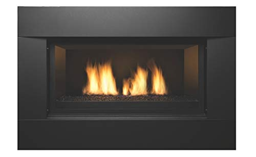 Newcomb 36'' Natural Gas Direct Vent Linear Fireplace by Sierra Flame