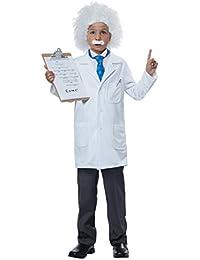 Albert Einstein/Physicist Costume, Medium, White/Blue