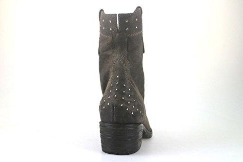 Zapatos mujer NERO GIARDINI Botines Botines marrón beige cuero AJ248