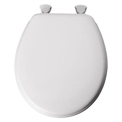 Admirable Mayfair 44Eca 000 White Enamel Toilet Seat Beatyapartments Chair Design Images Beatyapartmentscom