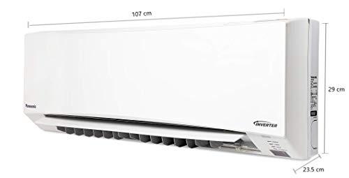 Panasonic 1.5 Ton 3 Star Wi-Fi Twin Cool Inverter Split AC (Copper, CS/CU-SU18WKYW, White, Powered by IoT, Voice Control…