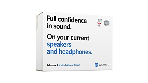 Sonarworks Reference 4 Studio Edition Speaker and Headphone Calibration Plug-In with Measurement Microphone, Boxed