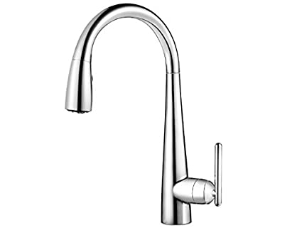 water filter for pull down faucet. Pfister GT529 FLC Lita Xtract All In One Pull Down Kitchen Faucet With