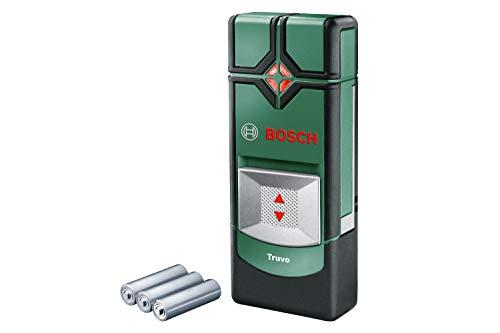 Bosch Truvo - Detector digital en caja metálica (metal ferroso, cable con corriente, metal no ferroso, AAA, 1.5 V): Amazon.es: Bricolaje y herramientas