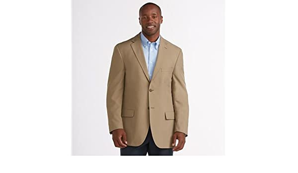 57d5ca2aa3a Amazon.com  RFID-Blocking Tropical Microfiber Sport Coat Tan 44  Everything  Else